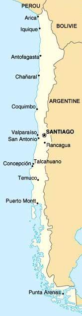 carte Chili